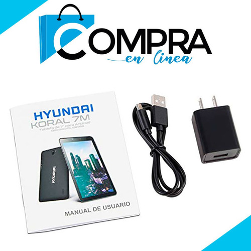 tablet hyundai 7 mejor q samsung android 8 celular + regalo