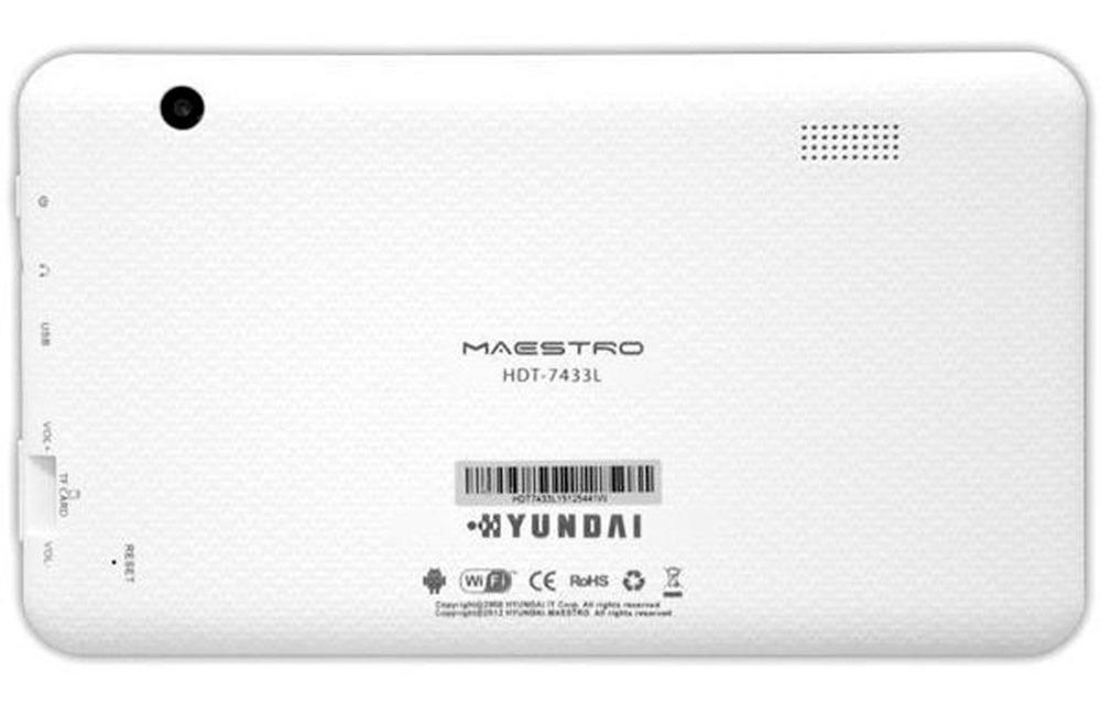 Tablet Hyundai Hdt 7433l 7'' Quad Core 1 5ghz 1gb Ram Hd 8gb