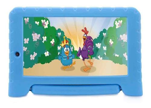 tablet infantil com capa emborrachada azul youtube netflix