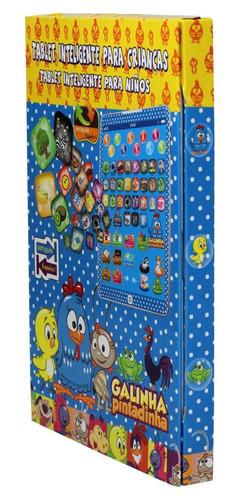 tablet infantil educativo d24+ celular 3d galinha pintadinha