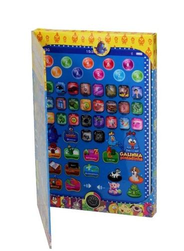 tablet infantil educativo galinha pintadinha frete gratis !!