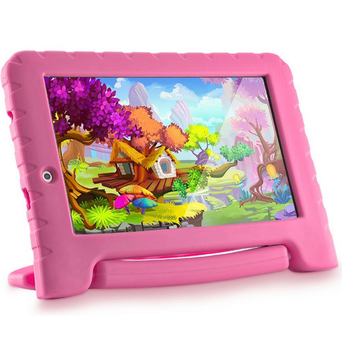 Tablet Infantil Educativo Multilase Emborrachado Quad Core