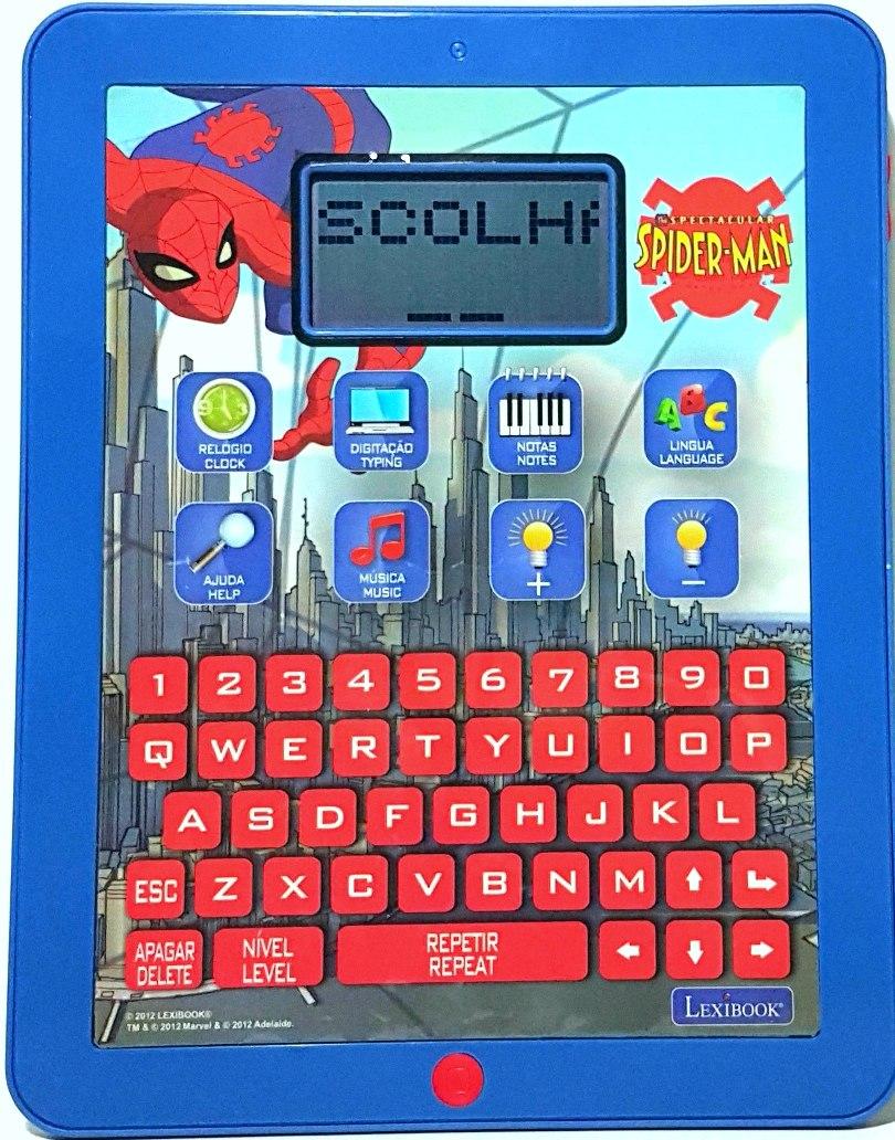 Tablet Infantil Homem Aranha 120 Atividades R 120 00 Em Mercado