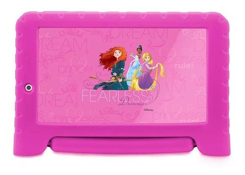tablet infantil multilaser android wifi +  emborrachado rosa