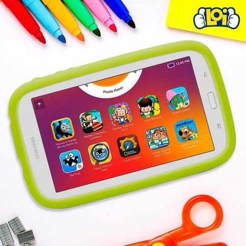 tablet infantil samsung kids 7' sistema para niños loi