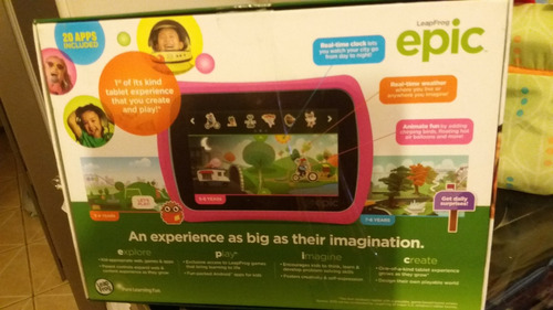 tablet interactiva epic