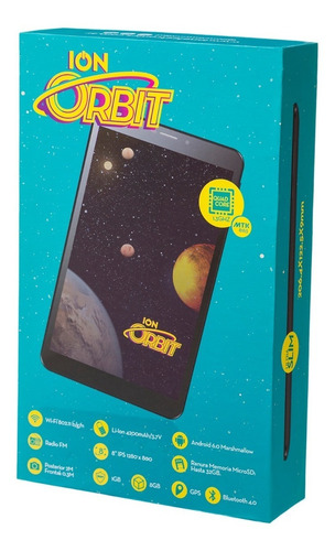 tablet ion orbit 8''