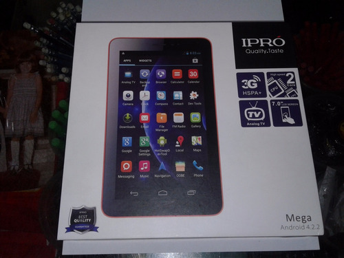 tablet ipro mega telefono 3g, tv , procesador 2 core
