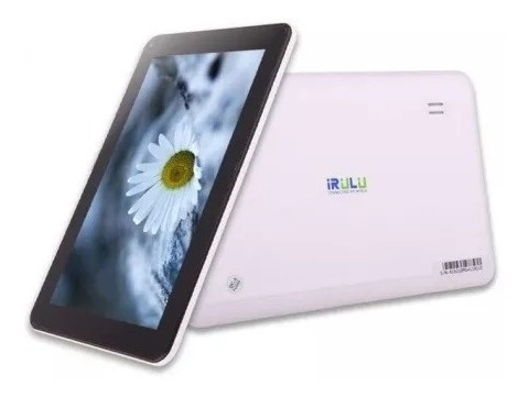 tablet irulu 512mb, 8gb, 9'', android 4.4 dual camara uriel