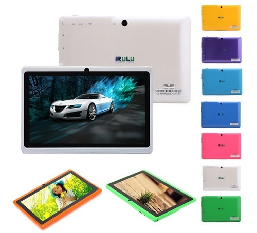 tablet irulu expro x1 android 4.2 tela de 7' teclado brinde