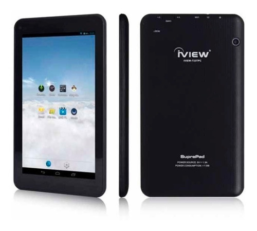 tablet iview suprapad 733tpc 7 quad core 512mb 8gb negro