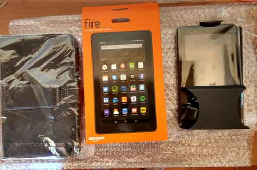 tablet kindle fire 7 wifi 8gb quad-core 1gb ram original 75x