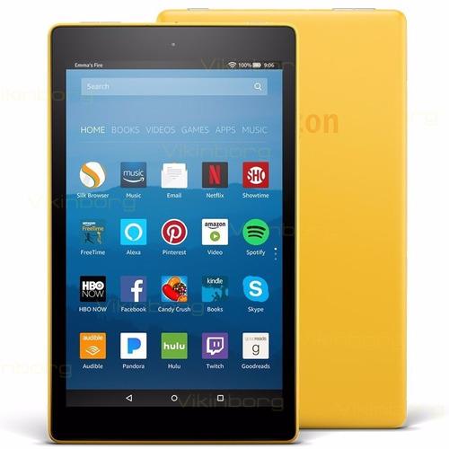 tablet kindle fire hd 8 wifi 16gb quad-core 1.5gb ram