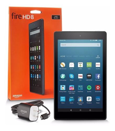 tablet kindle fire hd8, 8 16gb - magenta alexa - última unid
