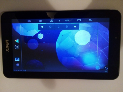 tablet lanix ilium i7 - usada funcionando (tapita rota)
