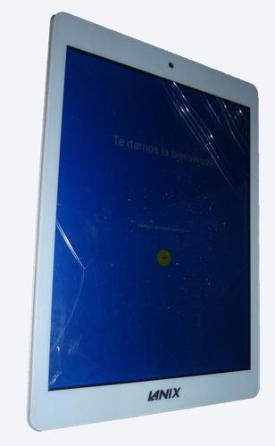 tablet lanix ilium pad i8 blanca (para refacciones o repara)