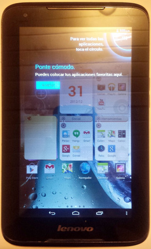 tablet lenovo ideapad 1000f en desarme