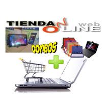 Tablet Androi De 7 Pulgadas 100% Original + Estuche Teclado