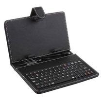 Forro Estuche Protector Con Teclado Para Tablet 7