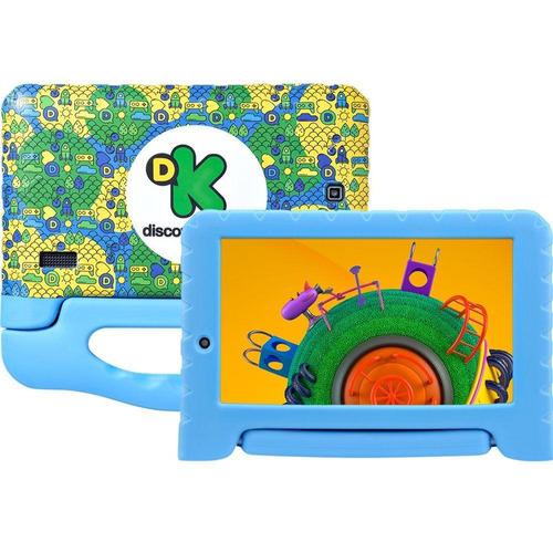 tablet multilaser discovery kids tela 7  8gb 1gb ram câm 2mp