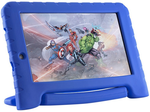 tablet multilaser disney avengers plus 8gb, 7  mania virtual