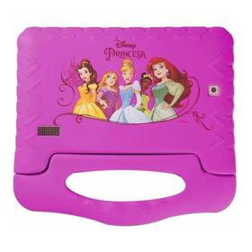 Tablet Multilaser Disney Princesas 7  8gb Rosa Com Memória Ram 1gb