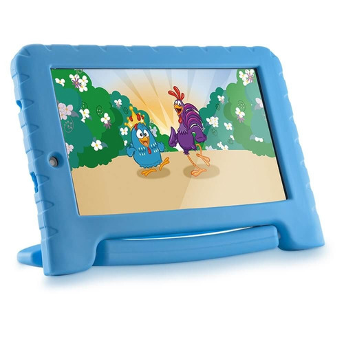 tablet multilaser infantil galinha pintadinha 7´ 8gb wifi