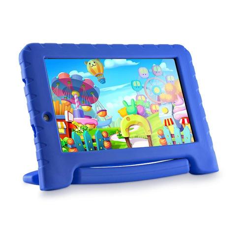 tablet multilaser kid pad plus 8gb nb278 - azul