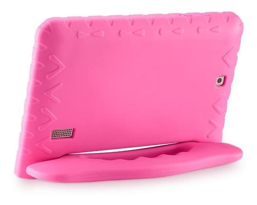 tablet multilaser kid pad plus memória 8gb nb279 - rosa