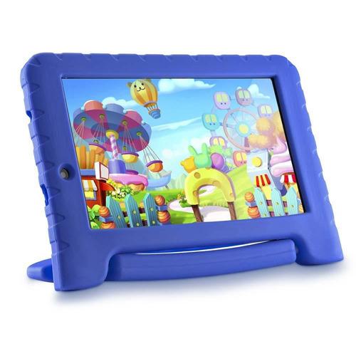 tablet multilaser kid pad plus nb279 8gb 7  wi-fi azul