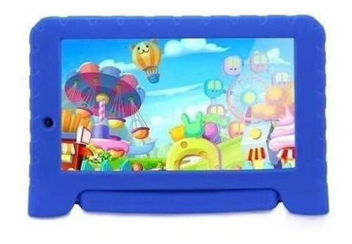 tablet multilaser kid pad plus wi-fi android 7.0 1gb nb278