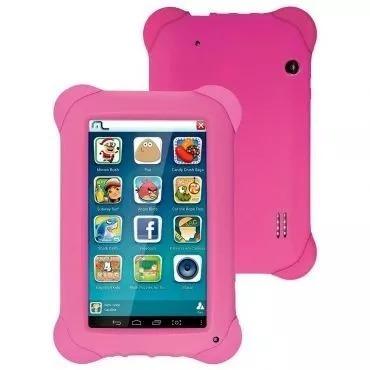 tablet multilaser kid pad rosa nb195