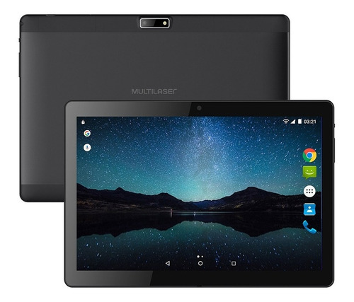 tablet multilaser m10a nb268 preto 3g android 7.0 10'