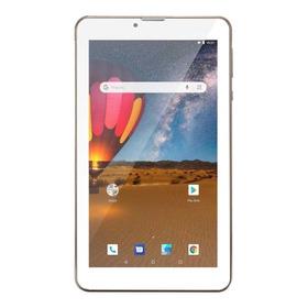 Tablet Multilaser M7 3g Plus Dual Nb30 7  16gb Dourado Com Memória Ram 1gb
