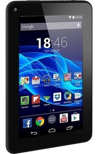 tablet multilaser m7s 7  polegadas 8gb nb184 - preto