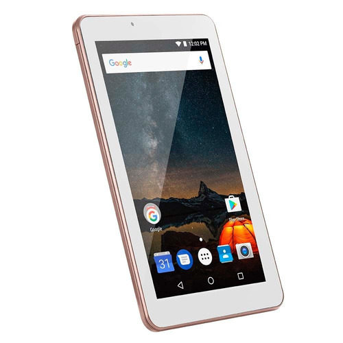 tablet multilaser m7s plus quad core wi-fi 7  rosa - nb275