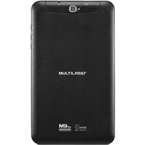 tablet multilaser m9-3g nb247 tela 9  1,3mp quadcore
