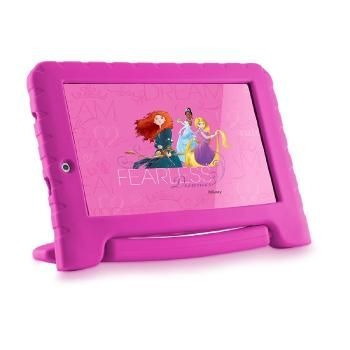tablet multilaser princesas plus 7p quad 8gb 2c - nb281