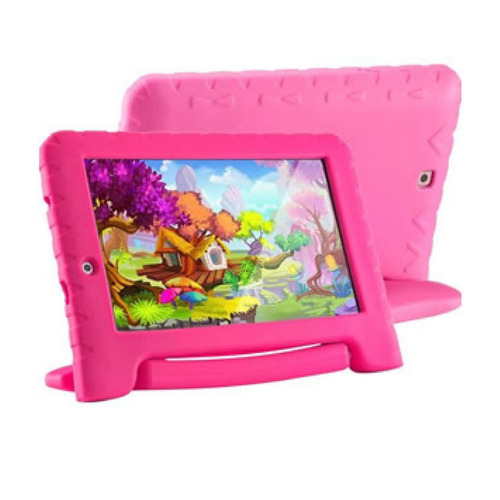 tablet nb279 kid pad plus quadcore android 7 wifi rosa