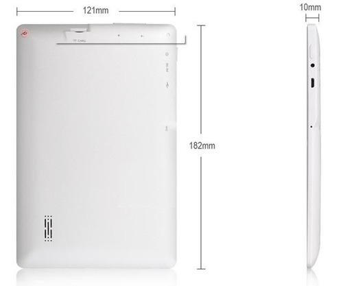 tablet niños golpes quad core hd 1024*600, 8 gb, android 5.1