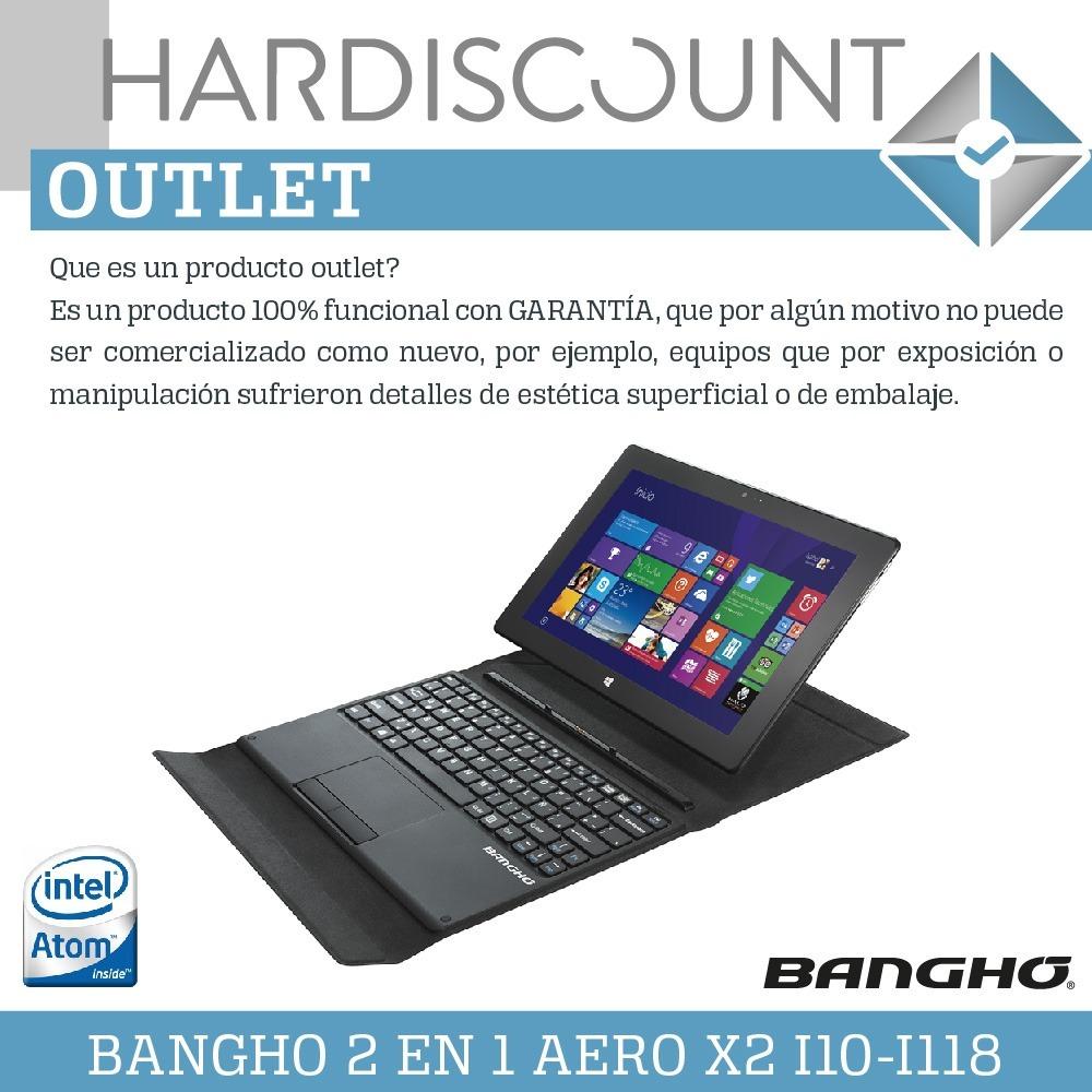 Tablet Notebook 2 En 1 Bangho Intel Atom 2gb Ssd 32gb Outlet Flashdisk Vgen Cargando Zoom