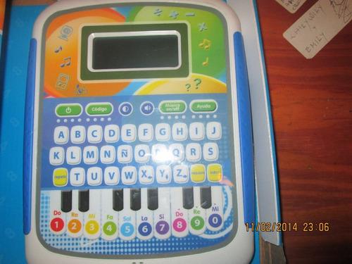 tablet para bebes de 2 años en adelante. incluye teclado.