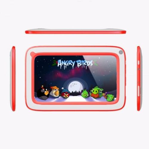 tablet para niños antigolpes hd 7p 8gb 2 cam 4 nucleos krono