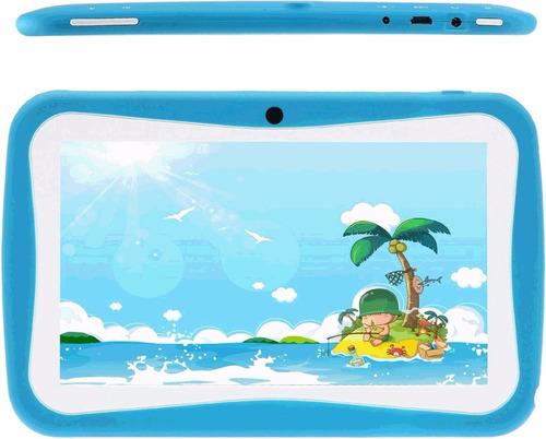 tablet para niños kids tab 7'' wifi doble camara 4 - 32gb
