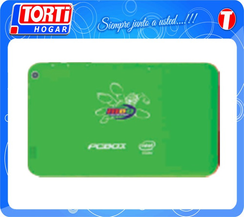 tablet pcbox anfibia pcb-t760 verde