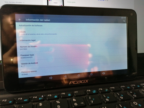 tablet pcbox go7bsc 7