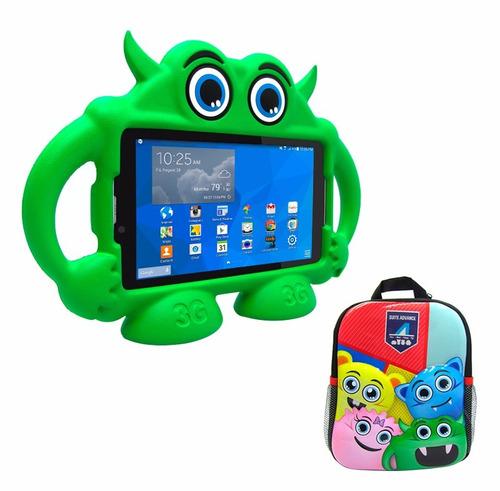 tablet / phablet intro tr4885 3g + mochila para niños