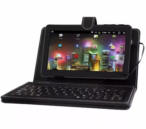 tablet phaser kinno pc 719 wifi android 2.2 case+tc grátis