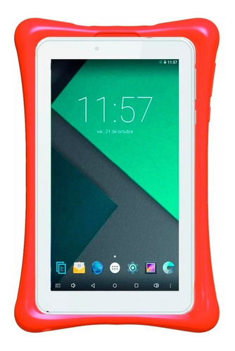 tablet philco tp7a4n 7p 8gb android 7 con funda protectora