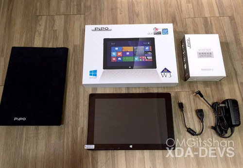 tablet pipo w3, win8.1+office,10.1plg/2gb-ram/64gb/5mp autof